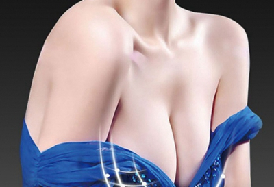 【假体隆胸】优质假体/快速丰胸 傲人双峰深V诱惑
