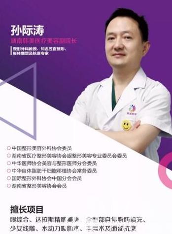 长沙韩美整形医院孙际涛专家做吸脂减肥原理及效果