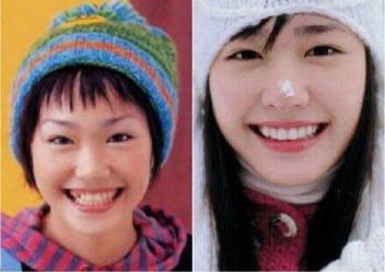 拒绝整容千律一篇 看过日本整过容的女星就知道了